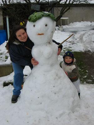 Steff Camille & le bonhomme de neige